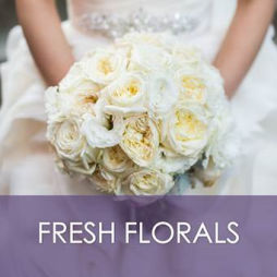 Wedding fresh flowers
